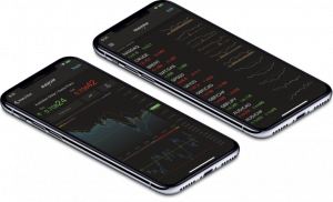 Mobile Terminal for a Forex and CFD Broker