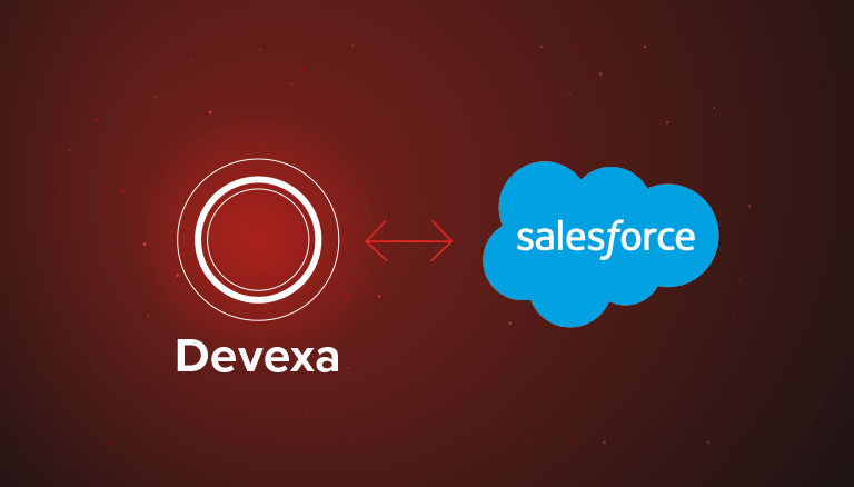 Devexa Chatbot integrated with Salesforce to automate brokerage support desk