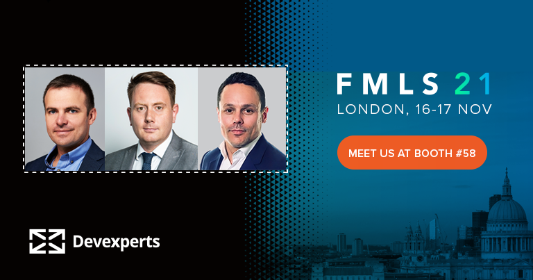 Meet Devexperts at the Finance Magnates London Summit